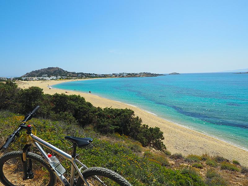 Naxos - Radfahren