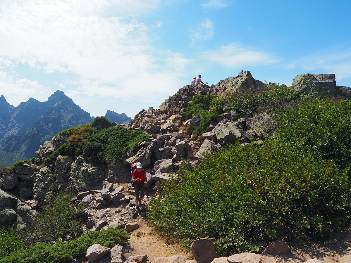 Wandern auf dem GR20 - Bocca Stagnu, Korsika