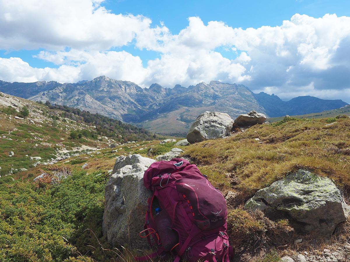 Wanderurlaub mit Rucksack - Korsika