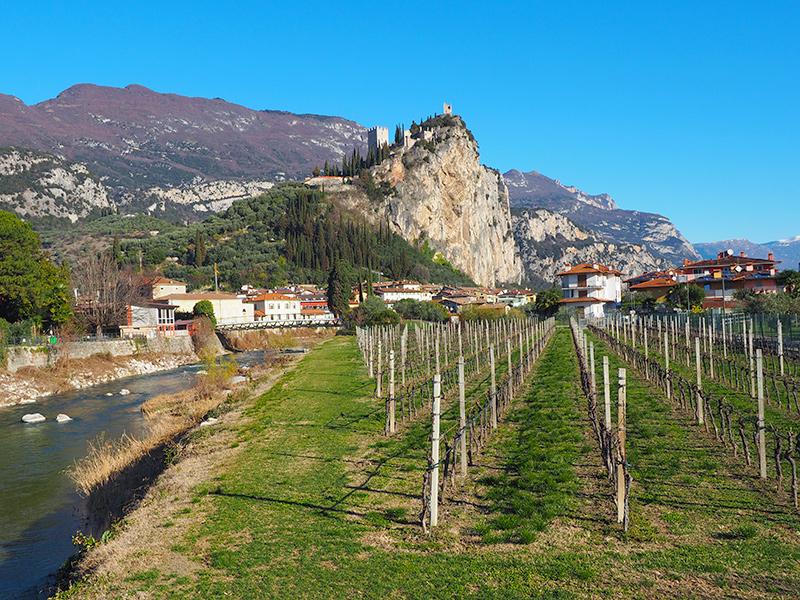 Gardasee - Arco, Burg