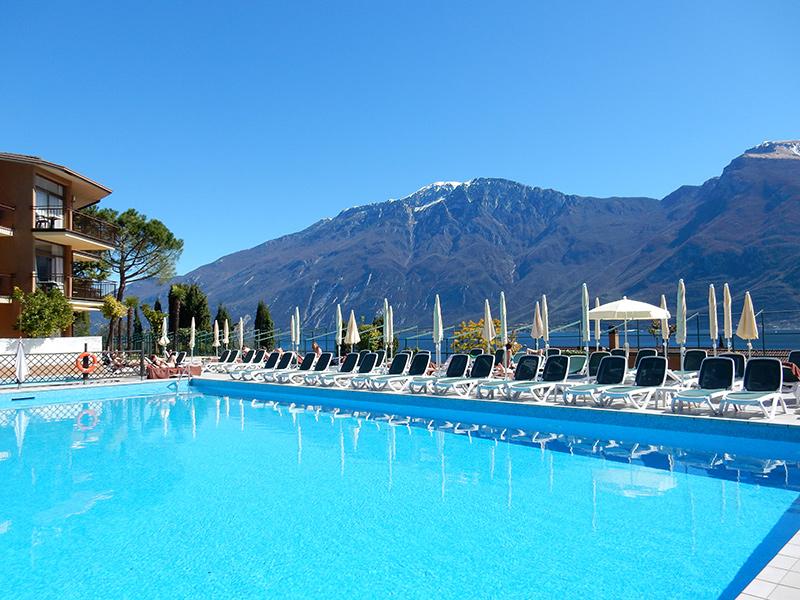 Gardasee - Hotel Leonardo da Vincci in Limone