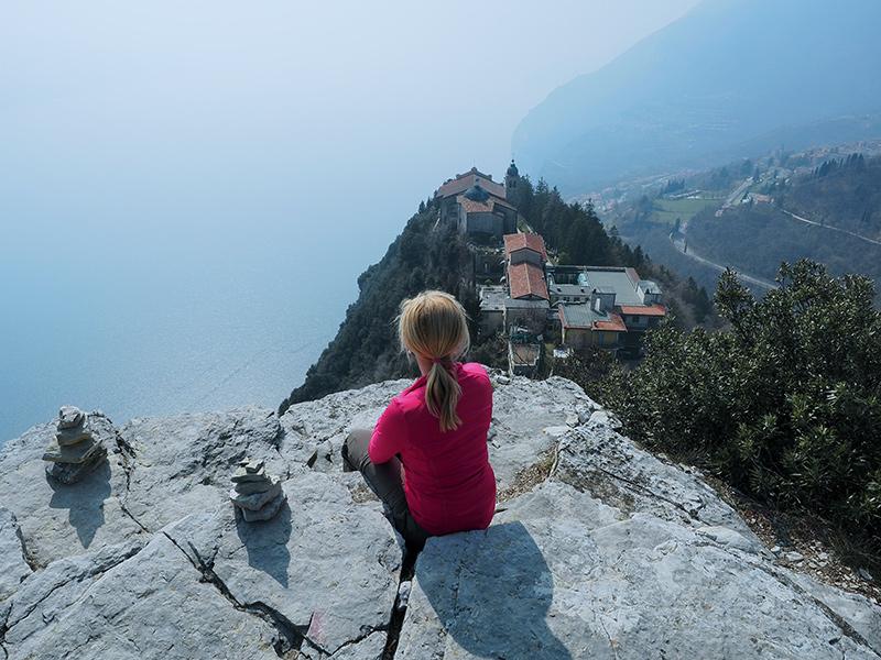 Gardasee - Montecastello, Wanderung