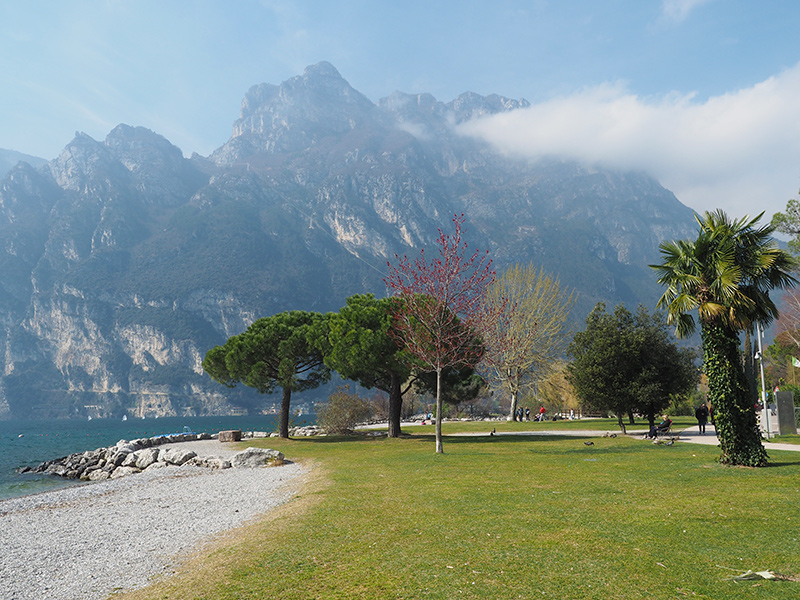 Gardasee - Riva del Garda, Promenade