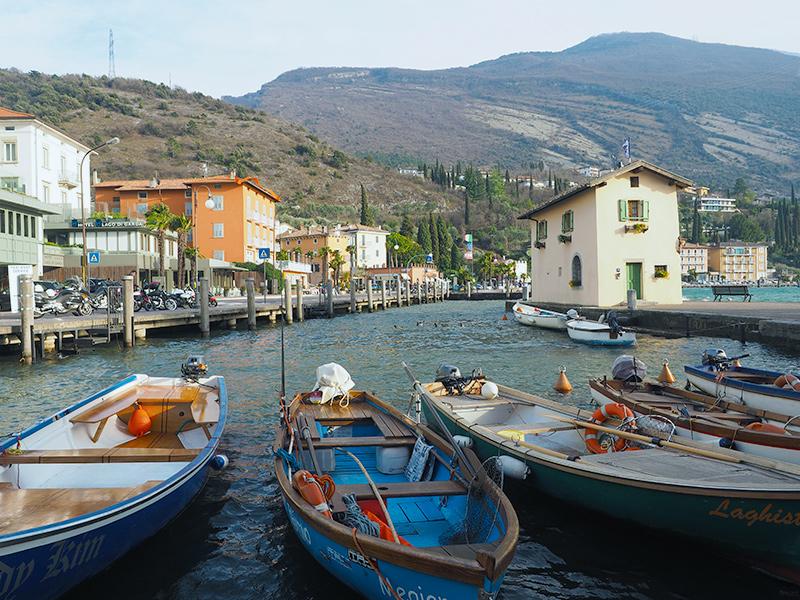 Gardasee - Torbole, Promenade