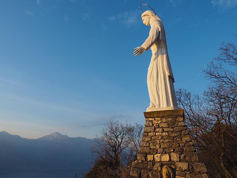 Malcesine - Wandern zur Madonna dell'Accoglienza