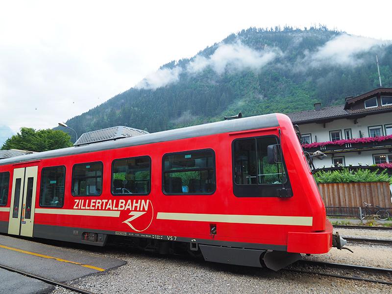 Zugreise - Zillertal