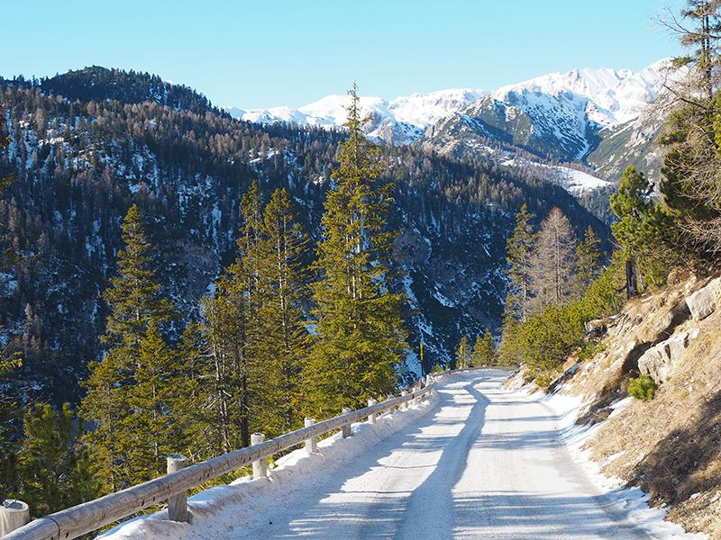 Winterwandern von Brückele zur Plätzwiese
