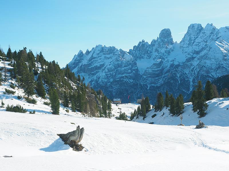 Winterwandern in den Dolomiten, Plätzwiese - Strudelkopf