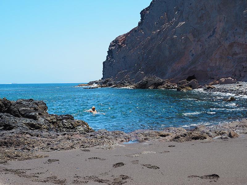 Lanzarote - Bucht Playa Quemada
