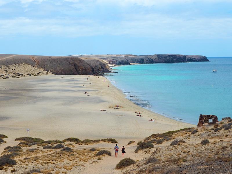 Lanzarote - Playa Mujeres, Playas de Papagayo