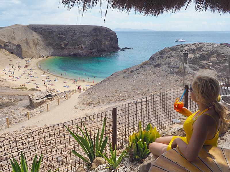 Lanzarote - Playa de Papagayo, Bar