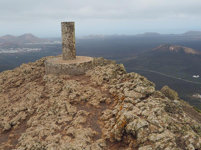 Lanzarote Wandern Montana de Guardilama