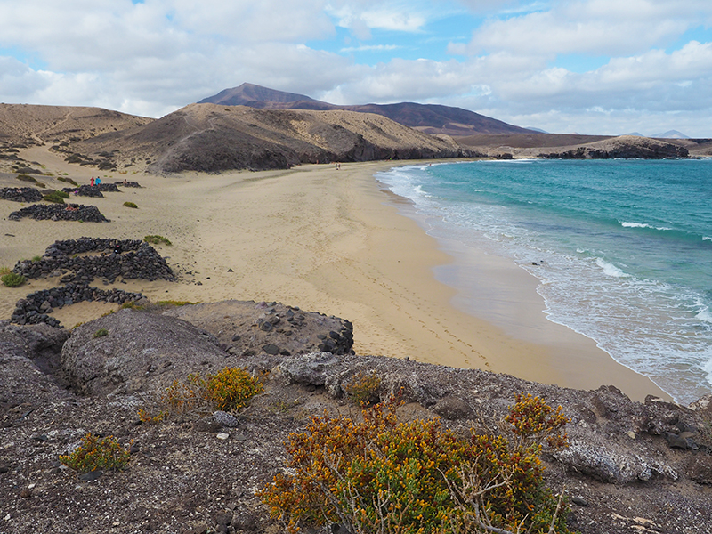 Lanzarote Wandern - Playa Puerto Melas, Playas de Papagayo