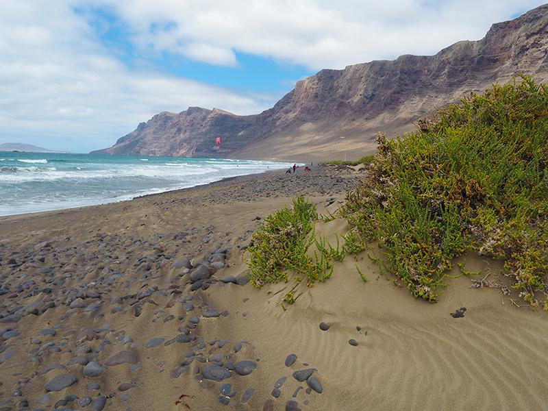 Lanzarote Wandern - Playa de Famara