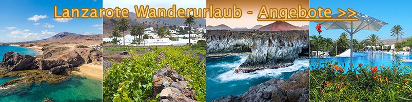 Lanzarote Wanderurlaub - Angebote