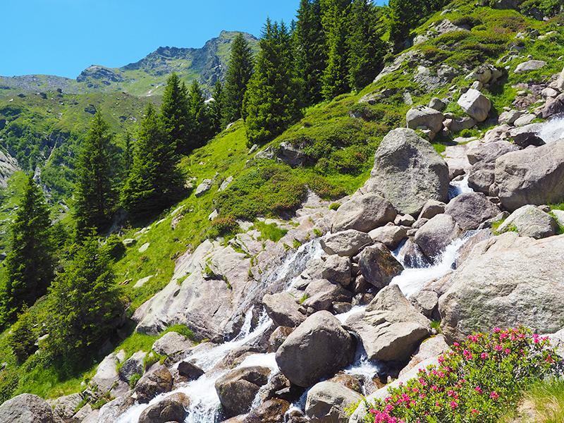 Spronser Seen in Südtirol - Wandern