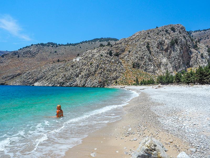 Symi - Strand Agios Vasilos Beach