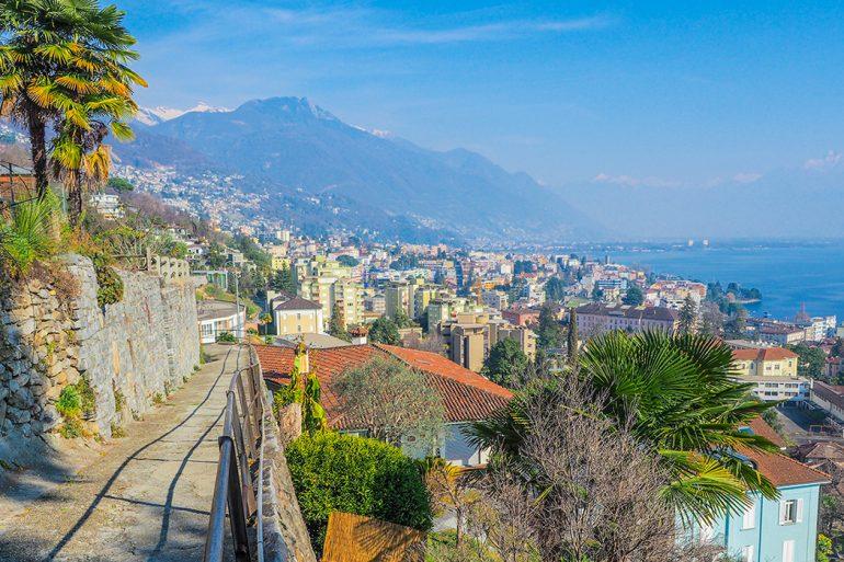 Lago Maggiore, Locarno - Ausblick