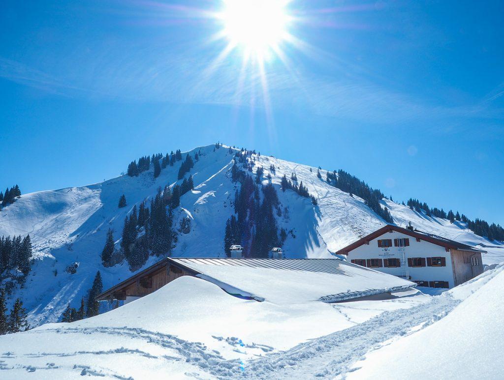 Hotel Altes Wallberghaus / Tegernsee im Winter