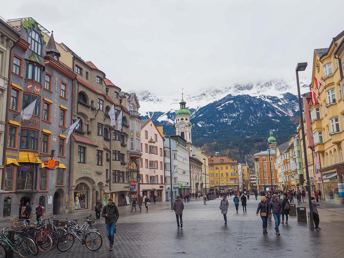 Innsbruck Altstadt - Maria Theresien Straße