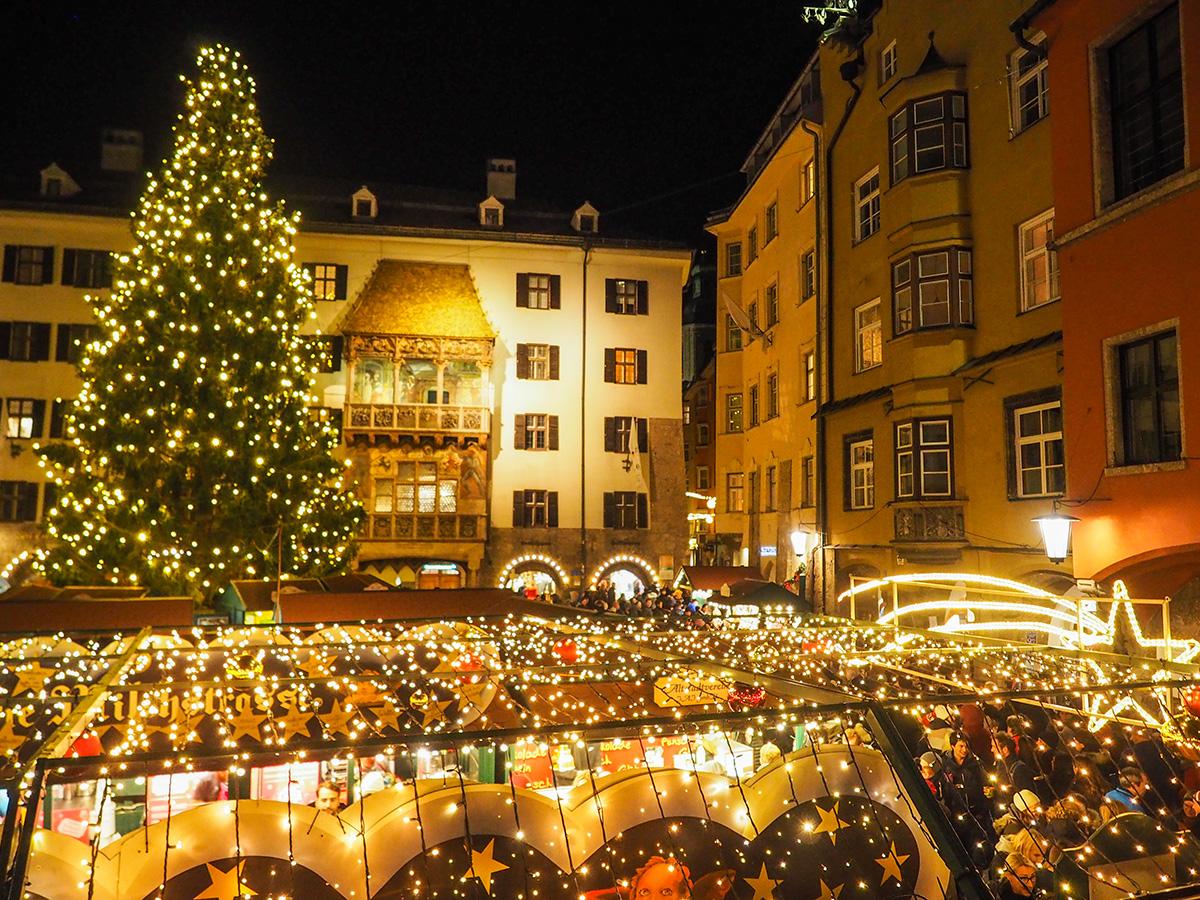 Innsbruck - Christkindlmarkt Goldenes Dachl