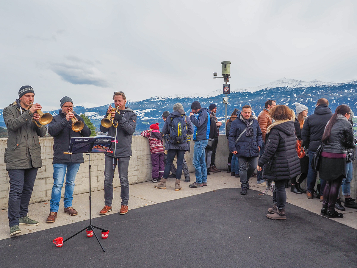 Innsbruck - Christkindlmarkt Hungerburg