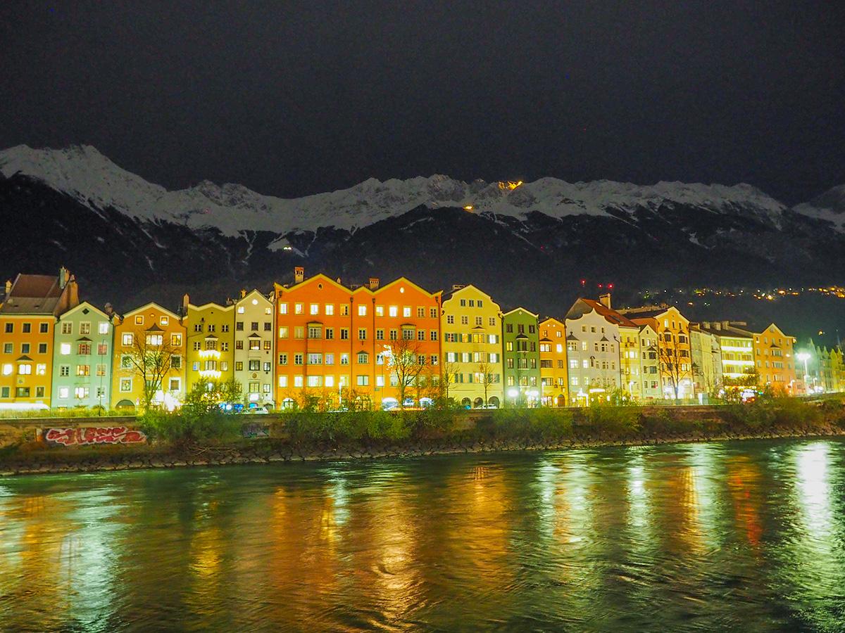 Innsbruck-Christkindlmarkt am Marktplatz am Inn
