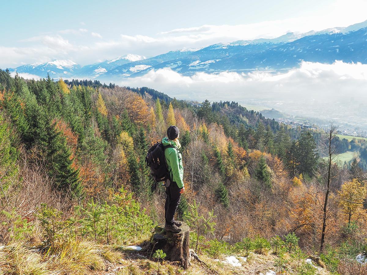 Innsbruck - Wandern zur Rumer Alm