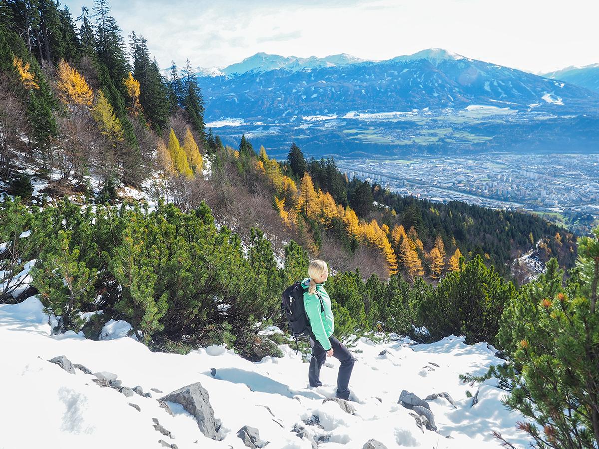 Innsbruck - Winterwandern zur Rumer Alm