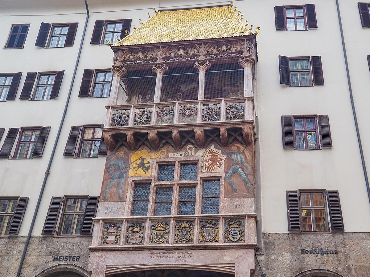 Innsbruck das Goldene Dachl