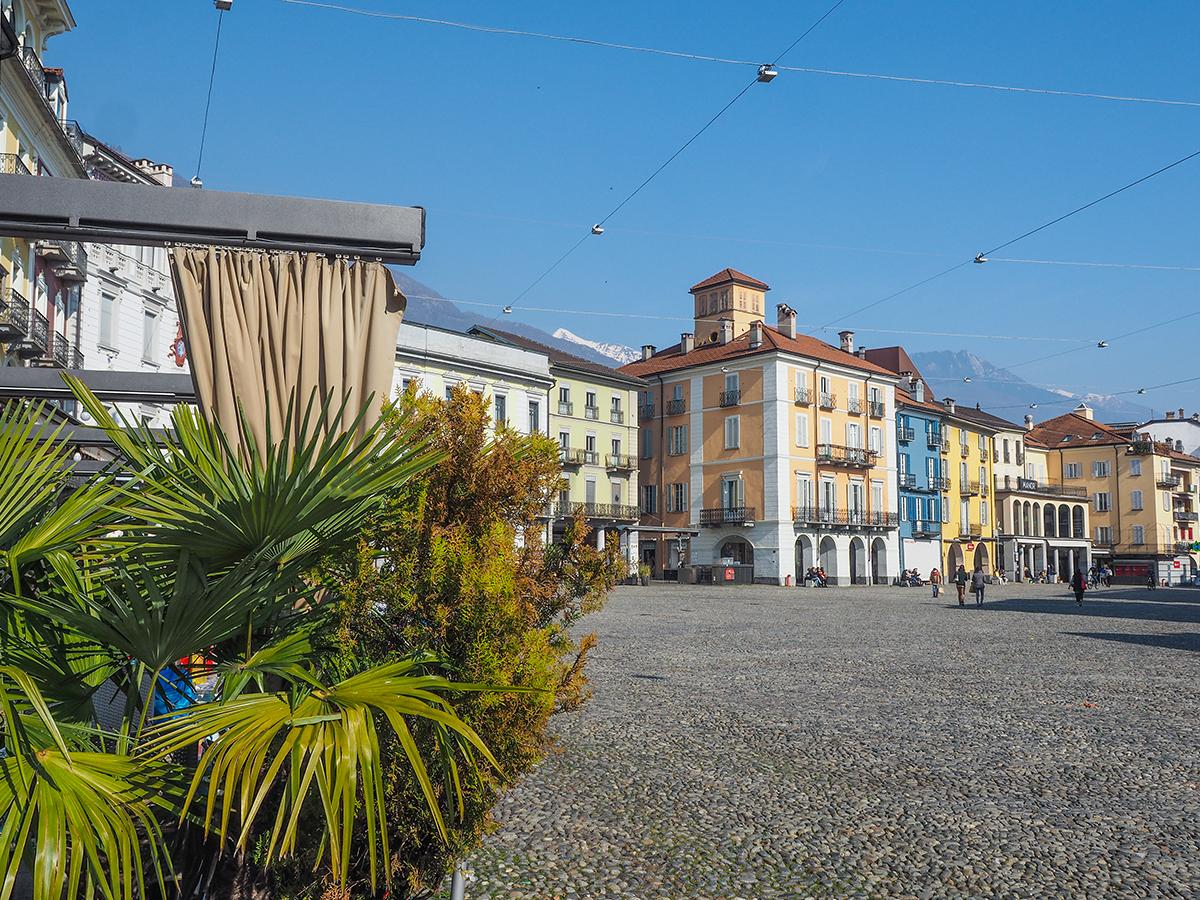 Lago Maggiore - Locarno, Altstadt Piazza Grande