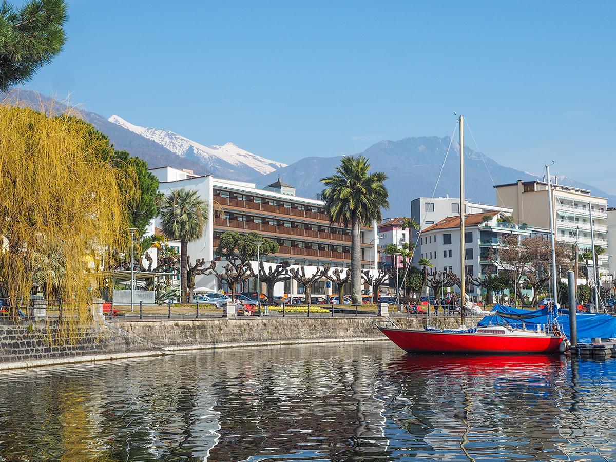 Lago Maggiore - Locarno, Promenade