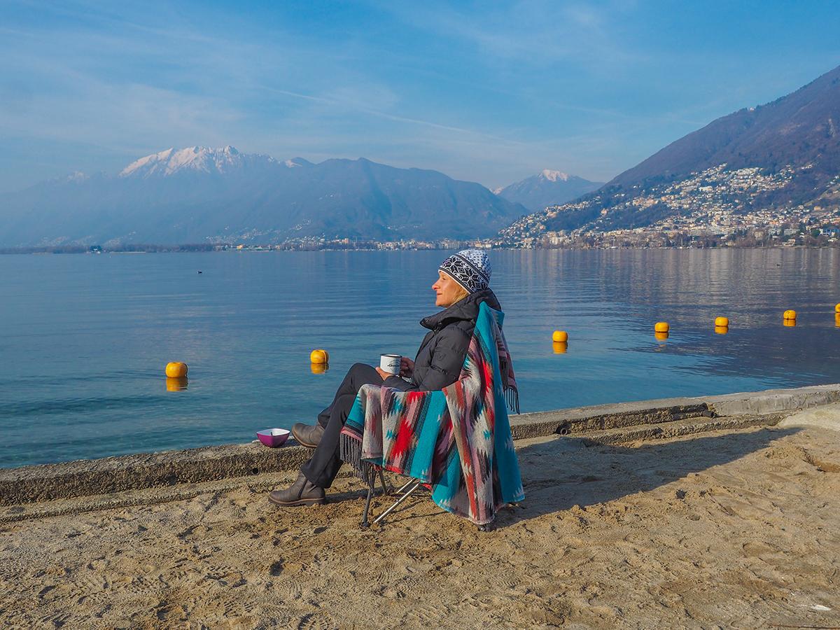Lago Maggiore - Tenero, Campingplatz
