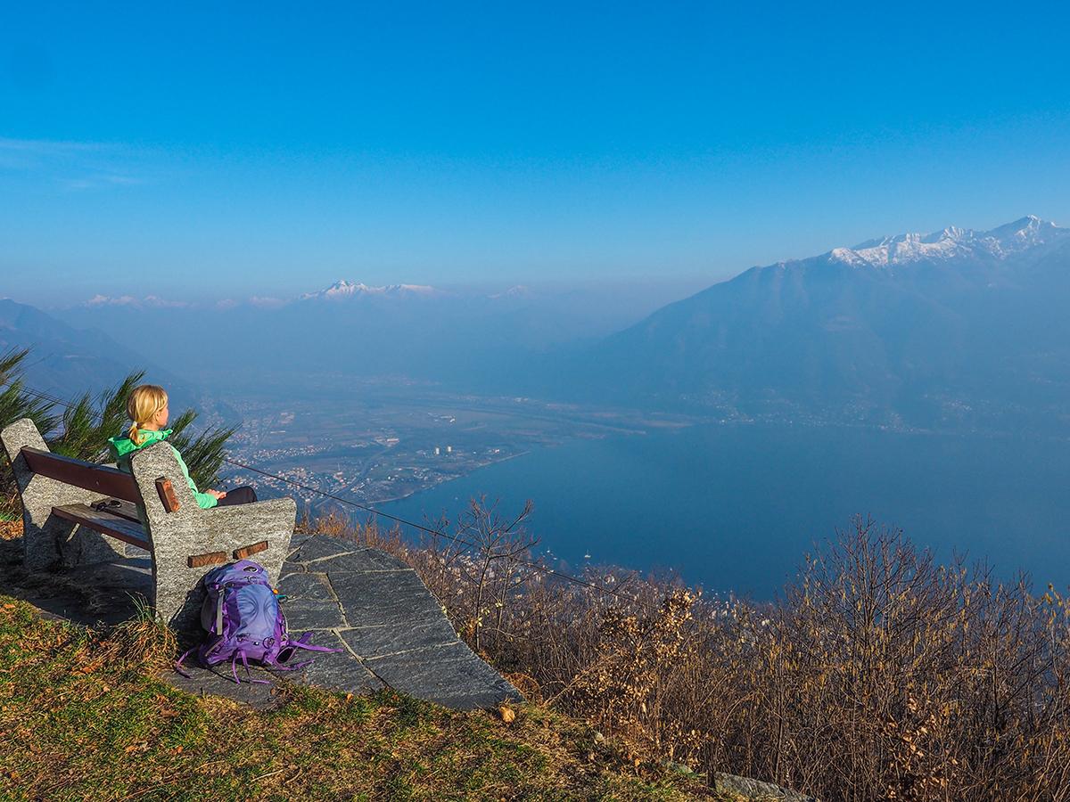 Lago Maggiore - Wandern von Locarno nach San Bernardo