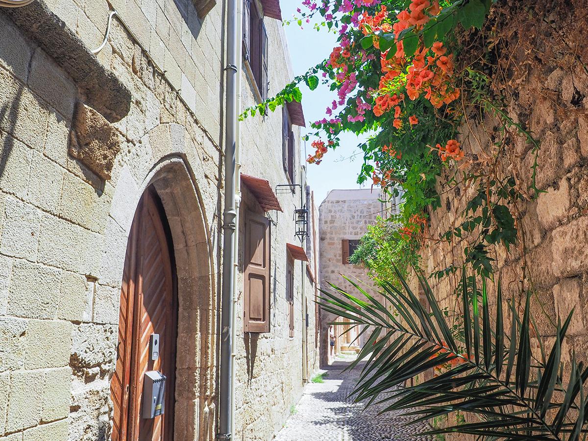 Rhodos-Stadt - Gasse in der Altstadt