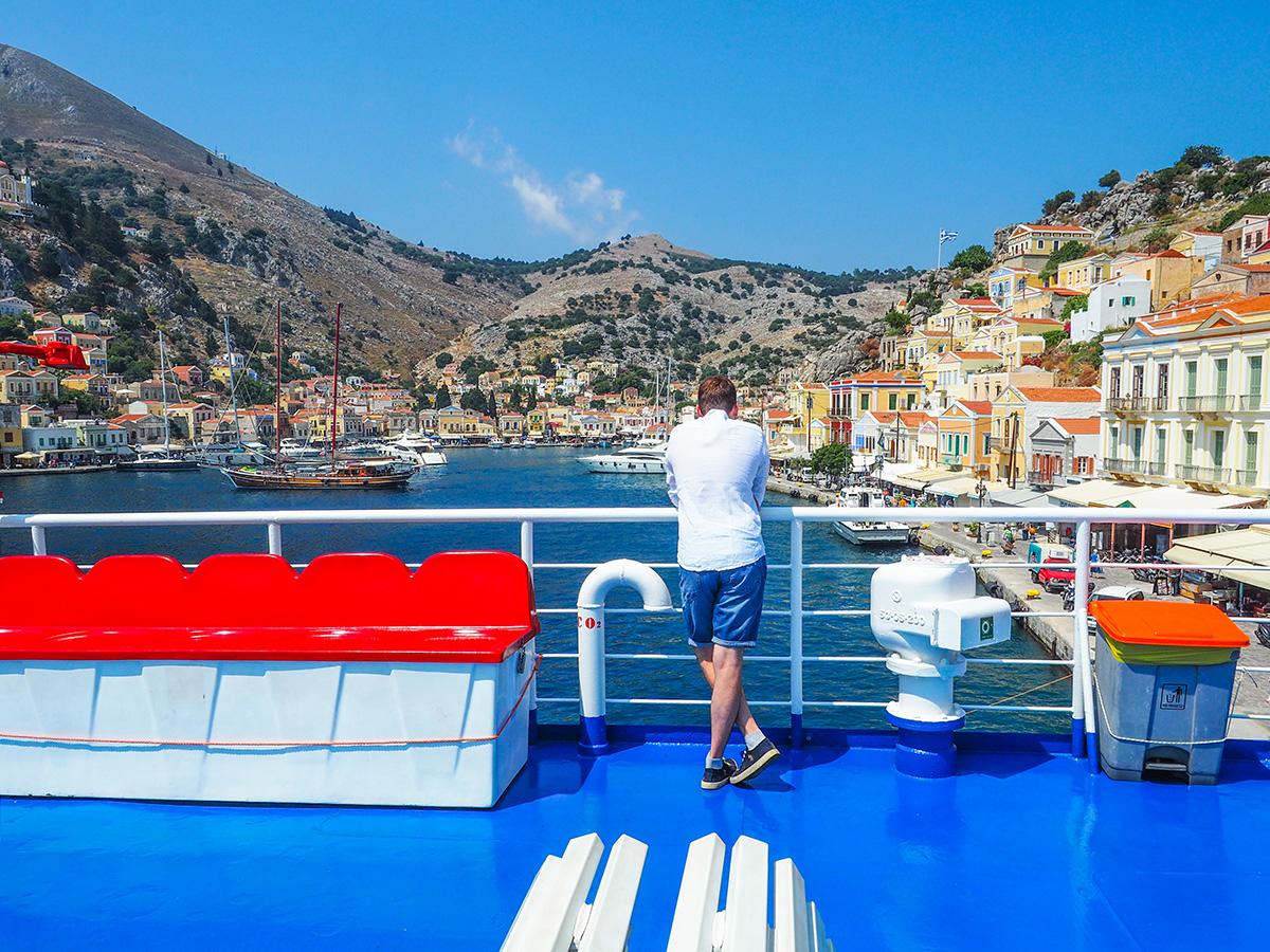 Rhodos-Stadt - Bootsausflug nach Symi