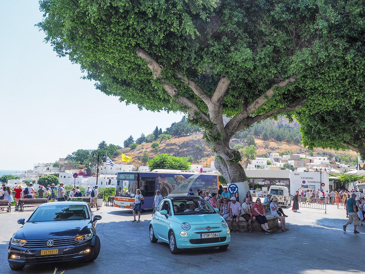 Ausflug mit Bus von Rhodos-Stadt nach Lindos