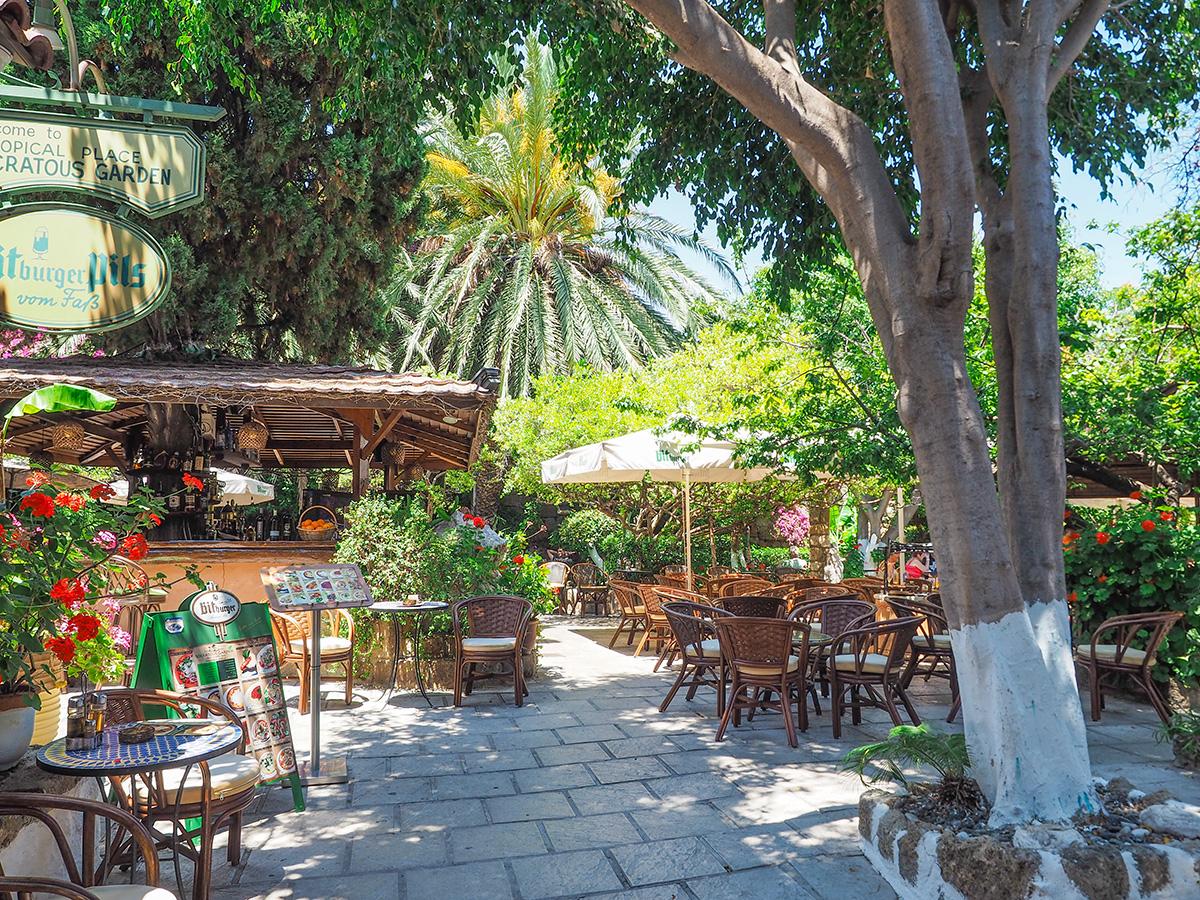 Rhodos-Stadt - Restaurant Socratous Garden