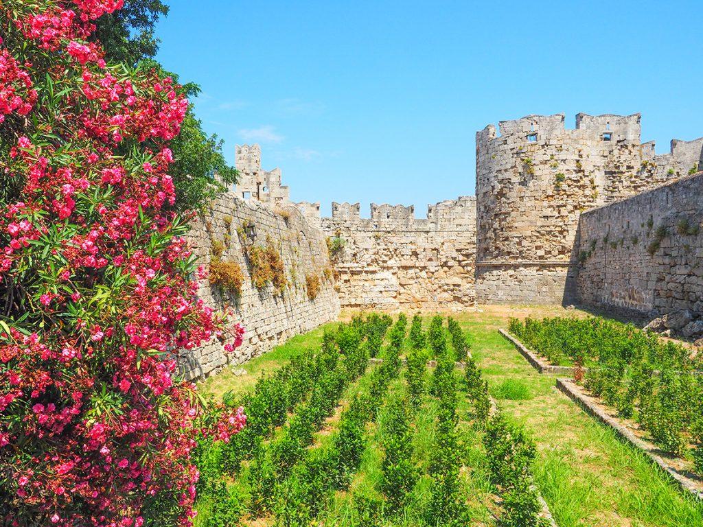 Rhodos-Stadt - Stadtmauer