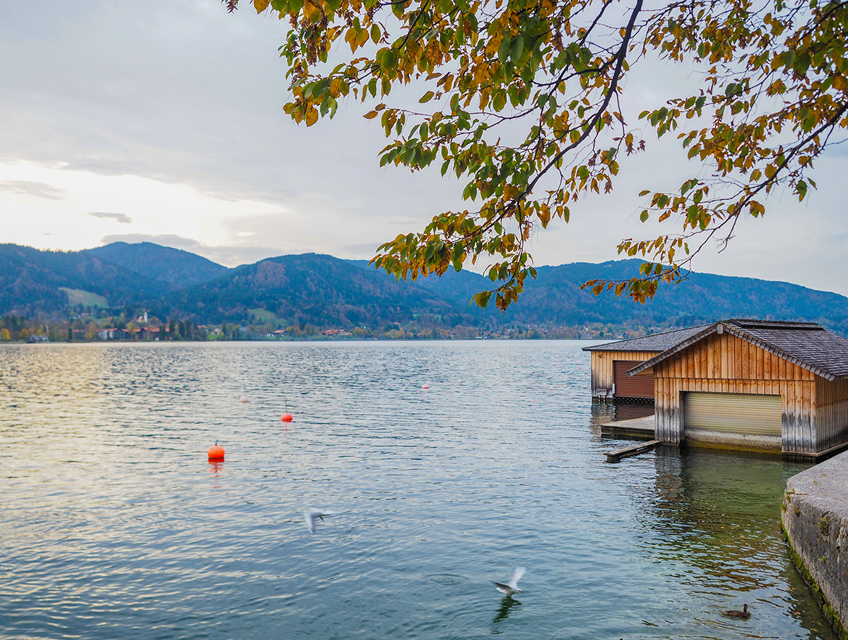 Tegernsee - Spaziergang im Herbst
