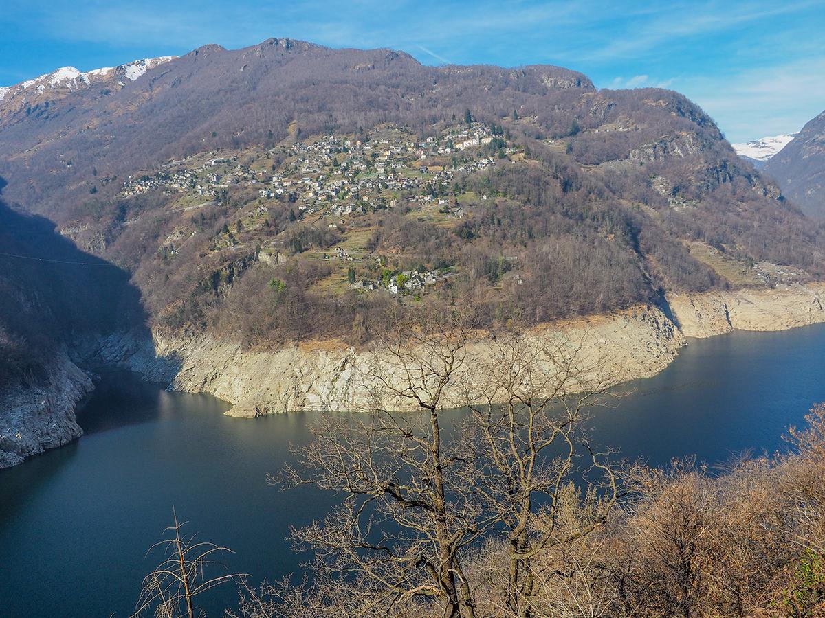 Verzascatal - Lago di Vogorno