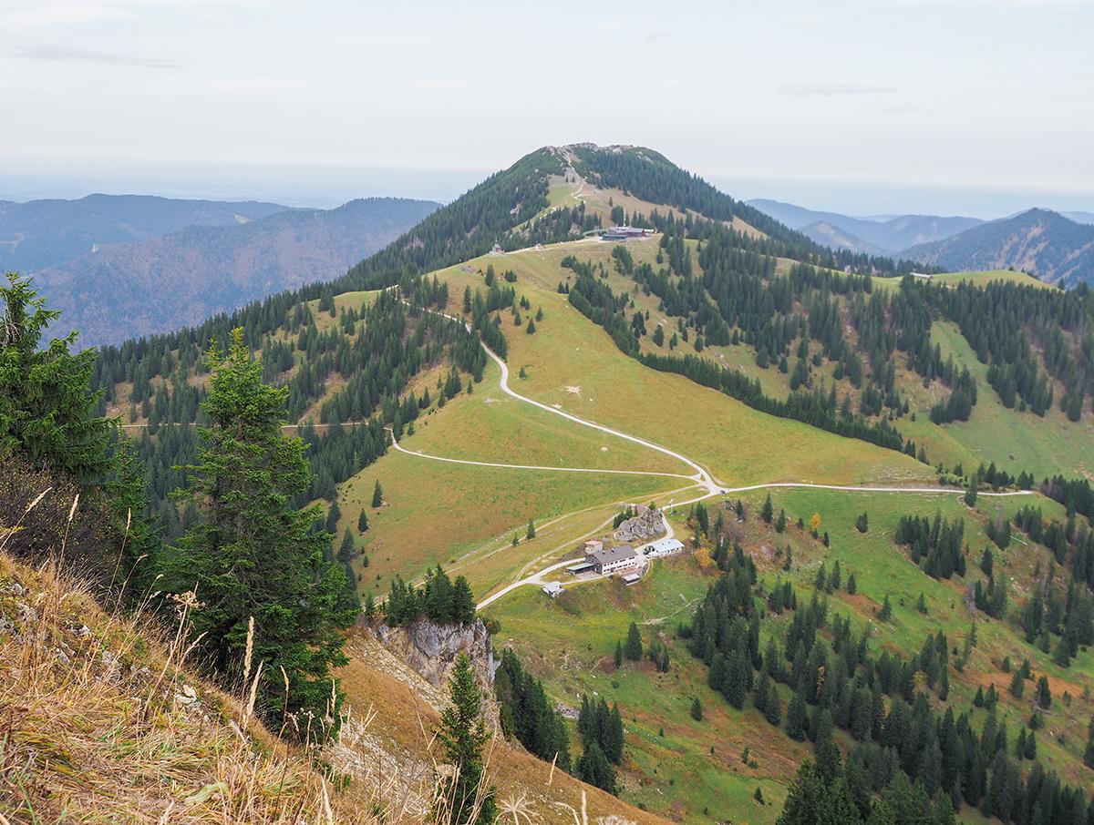 Wandern Tegernsee - Setzberg