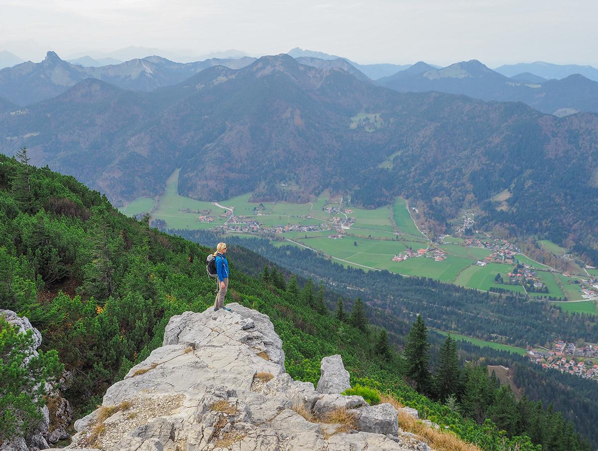 Wandern Tegernsee - Wallberg