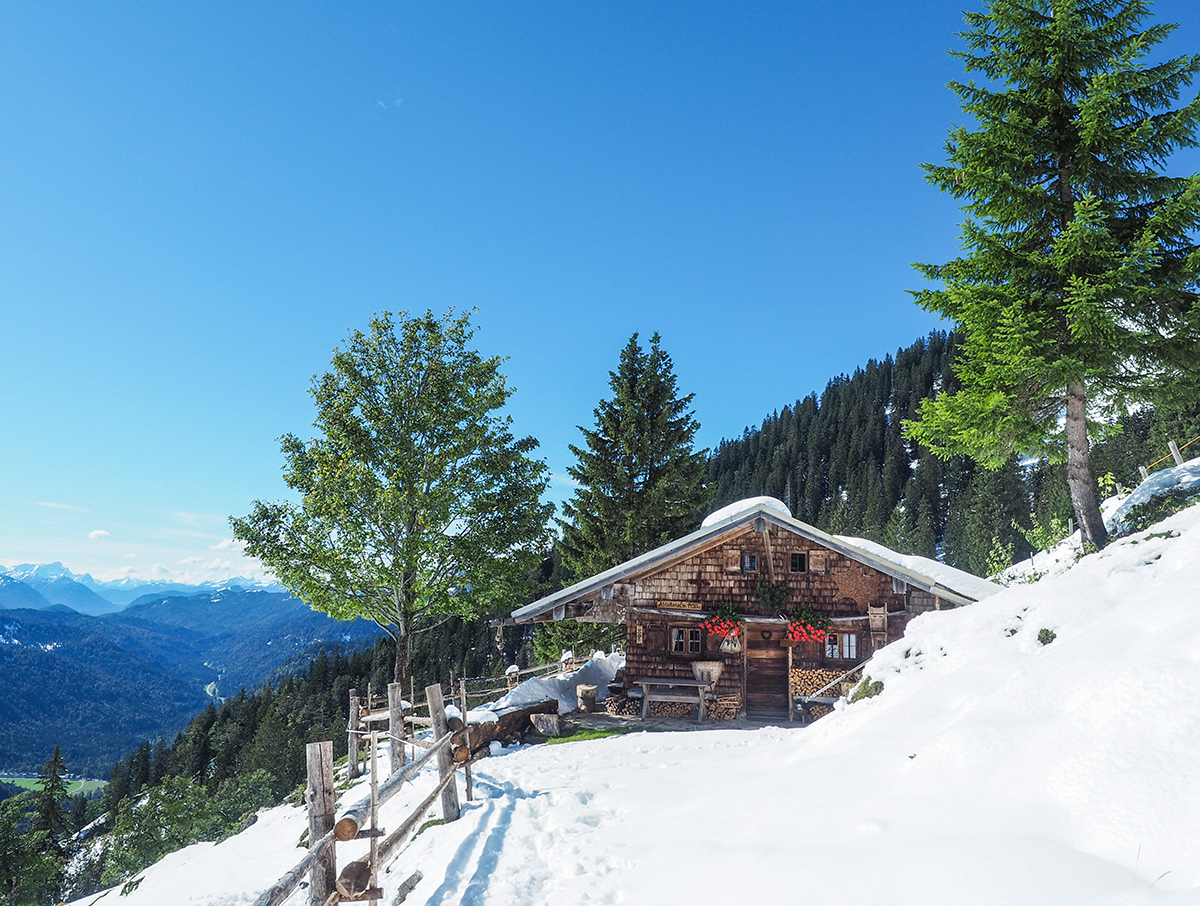 Winterwandern Tegernsee - Ableitenalm