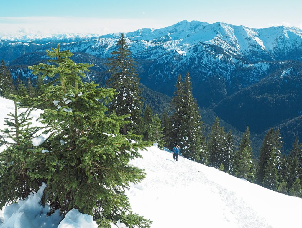 Winterwandern Tegernsee - Grubeck