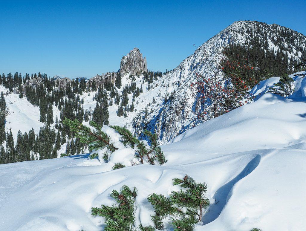 Winterwandern Tegernsee Richtung Grubeck & Risserkogel