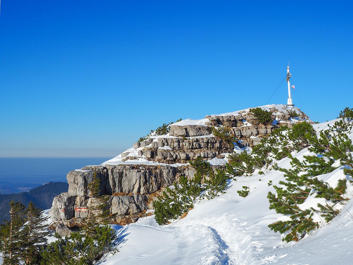 Winterwandern Tegernsee - Wallberg