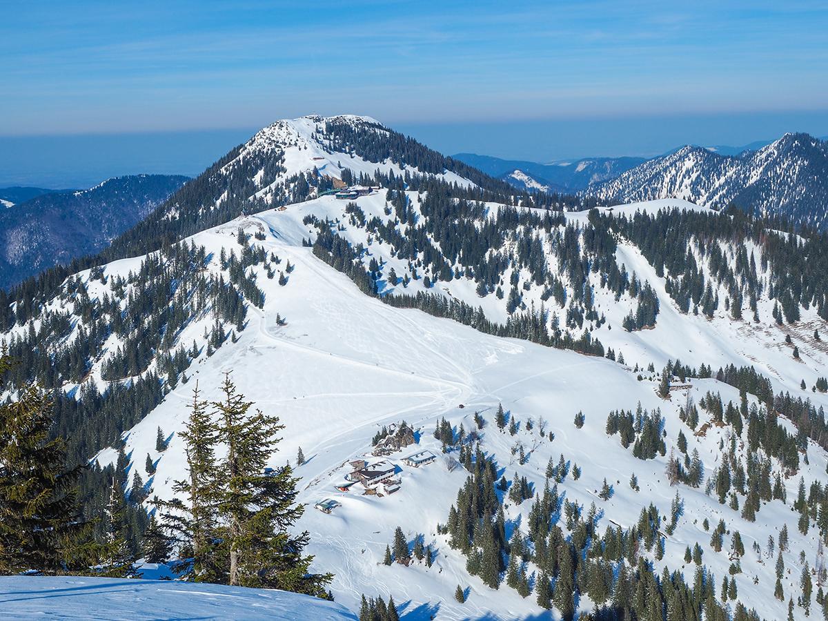 Winterwanderung Tegernsee - Setzberg