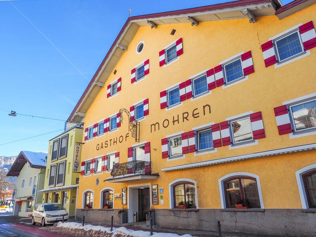 Hotel Zum Mohren - Reutte