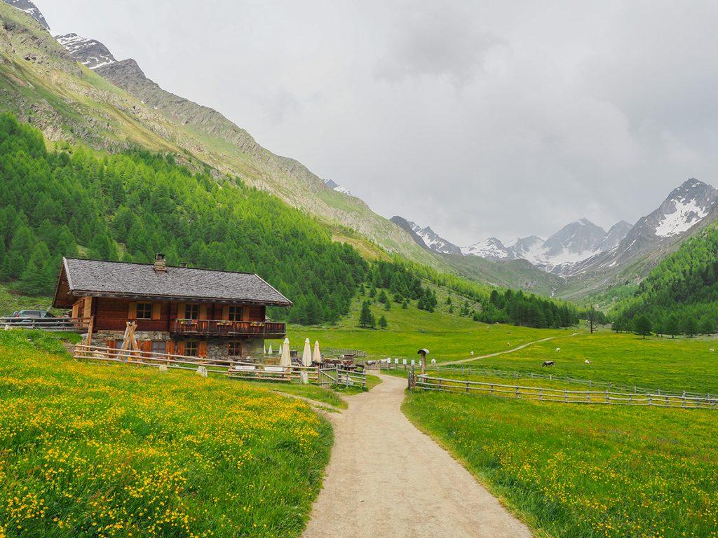 Meraner Höhenweg Wandern - Gasthof Eishof